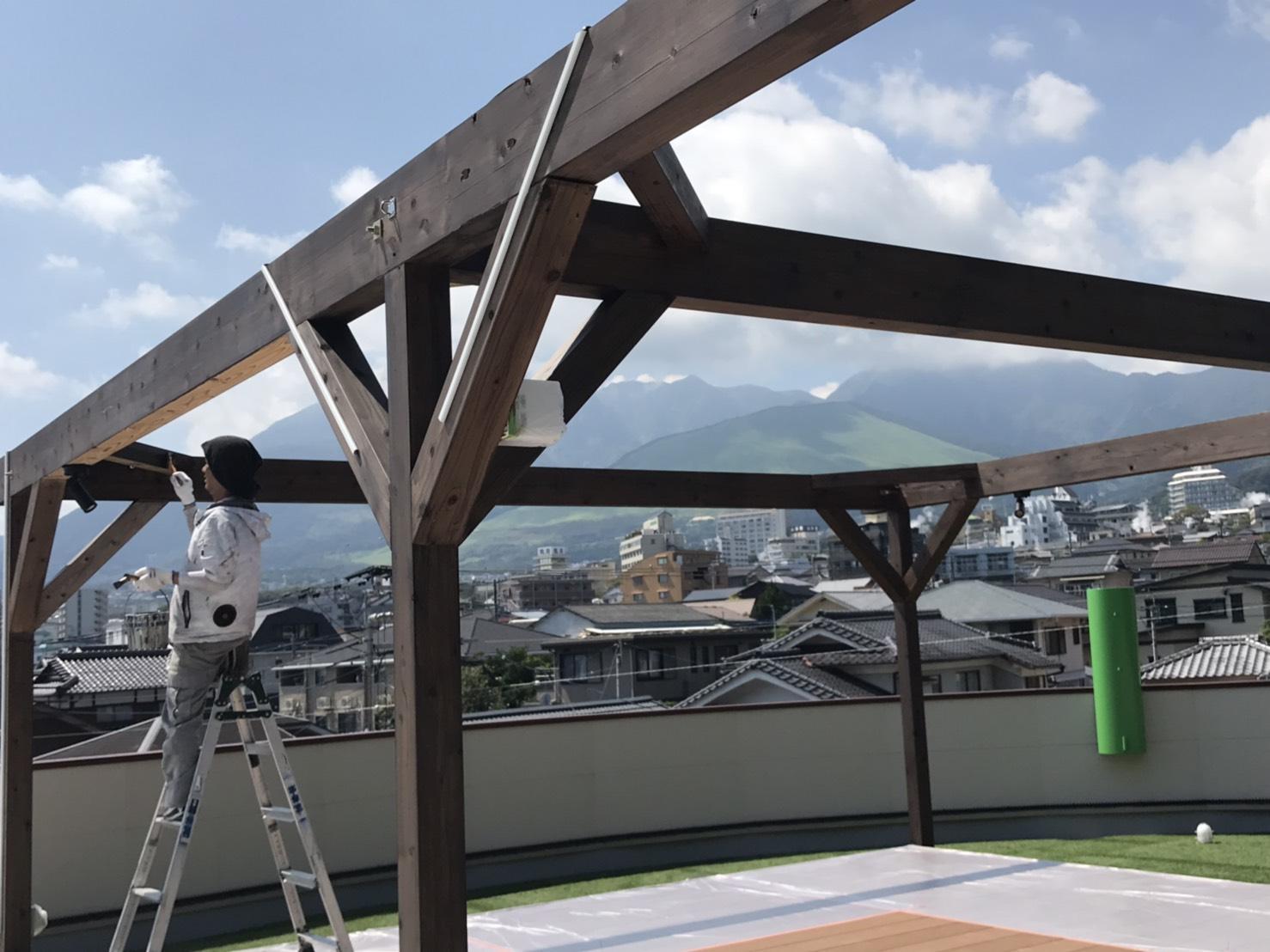 当社の屋上